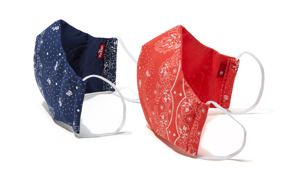 Levi's ups its coronavirus relief support with new masks and a $75,000 donation to nonprofit medical organization Doctors Without Borders.
