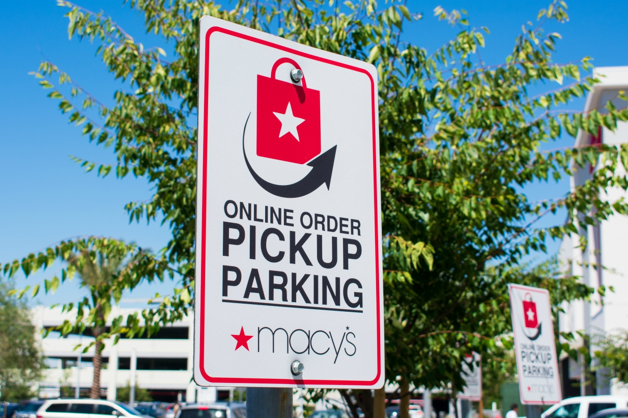 Macy's CEO Jeff Gennette says coronavirus has spurred retail's adoption of contactless transactions, same-day delivery and curbside pickup.