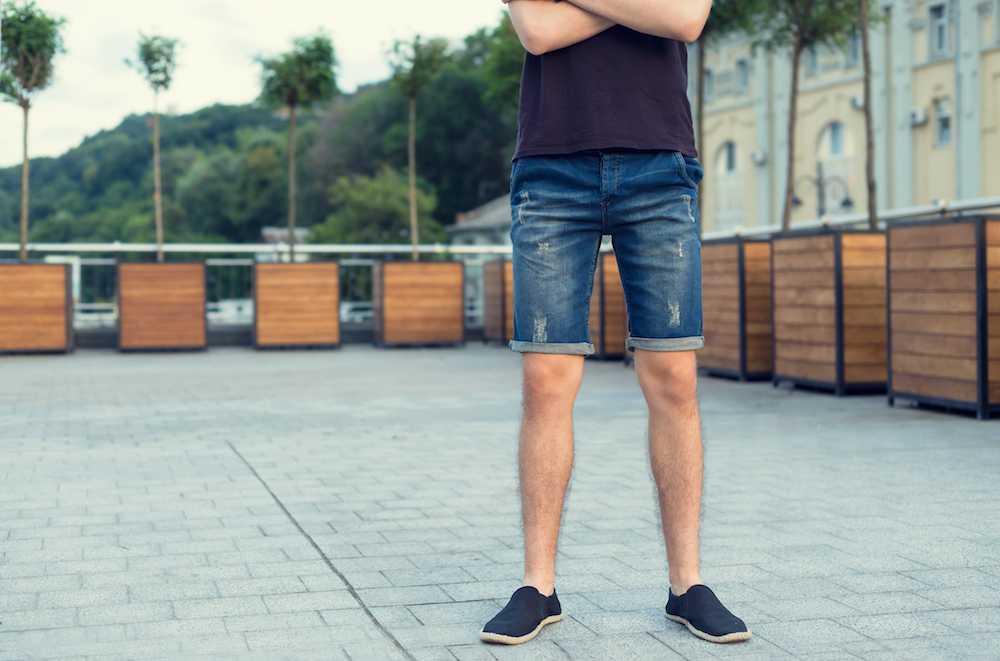 Shorts are all the rage this season. Build your summer wardrobe with these top styles for men by Levi's, Frame and more.