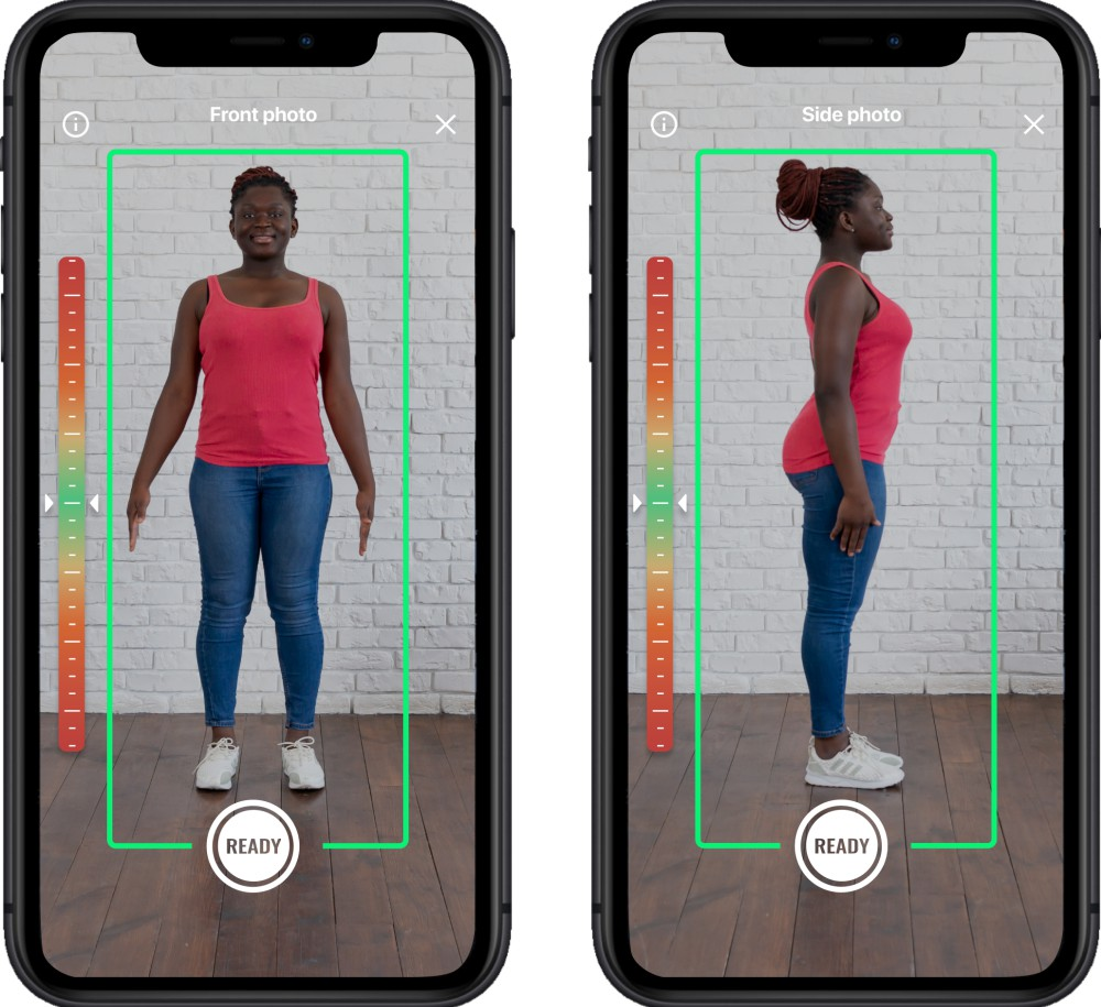 3DLOOK's Mobile Tailor solution allows businesses to obtain about 70 measurements from just two photos.