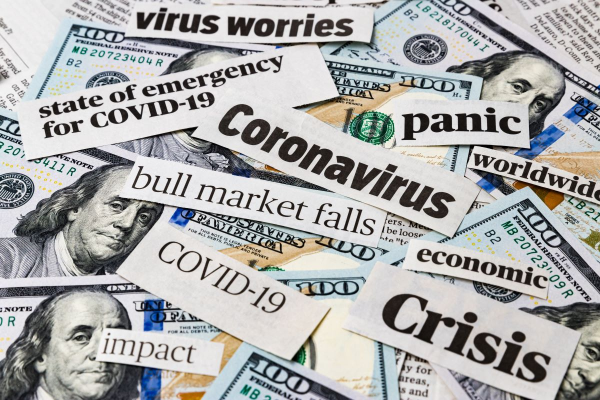 The National Bureau of Economic Research says the U.S. is in a recession after growth peaked in February amid the coronavirus pandemic.