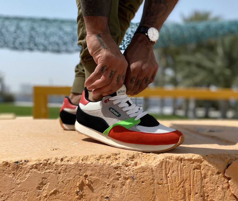 School Footwear started a Kickstarter campaign with the goal of making great sneaker design accessible and proving that #blackbrandsmatter.