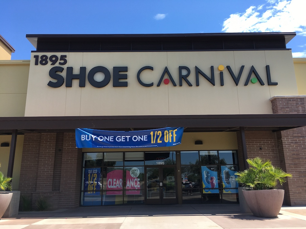 Shoe Carnival reported a year-over-year same-store sales increase of 28.1%, including a 4% boost in brick-and-mortar comparable sales.