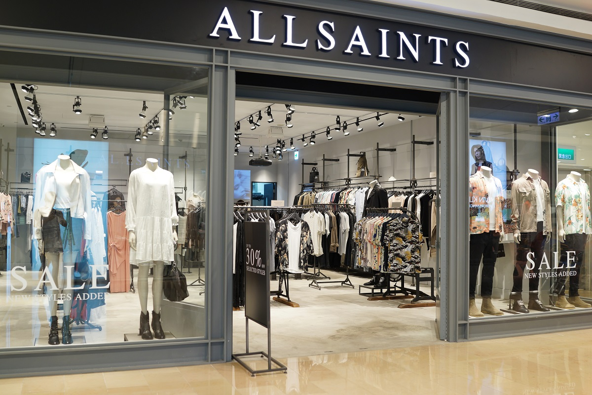 AllSaints is one of various U.K.-based apparel retailers considering insolvency and potential store closures while it demands rent cuts from landlords.