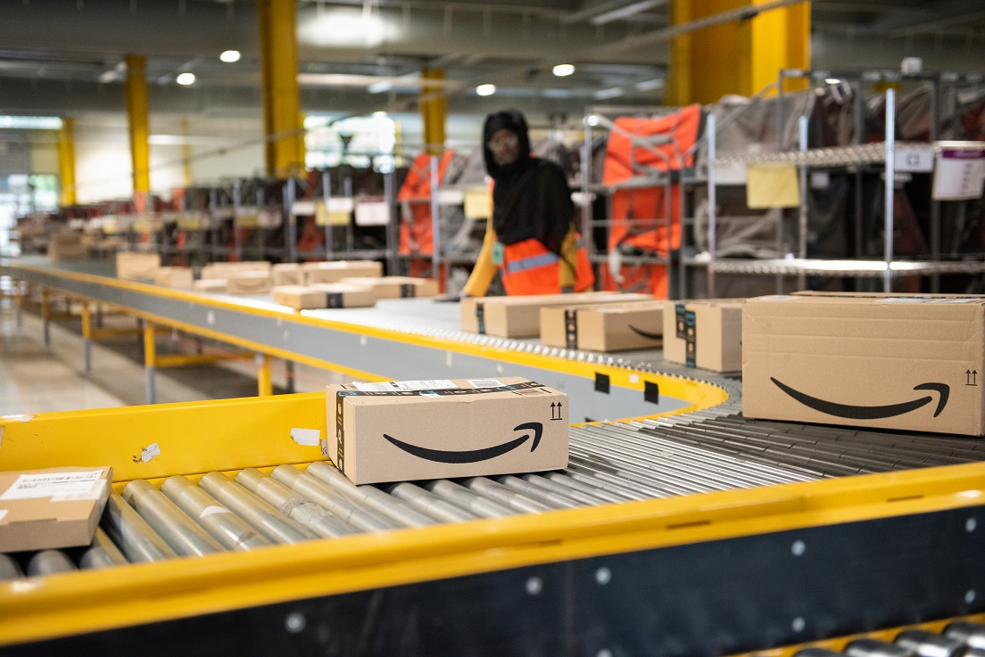 The U.S. Patent and Trademark Office approved Amazon's blockchain patent using distributed ledger technology for supply chain visibility.