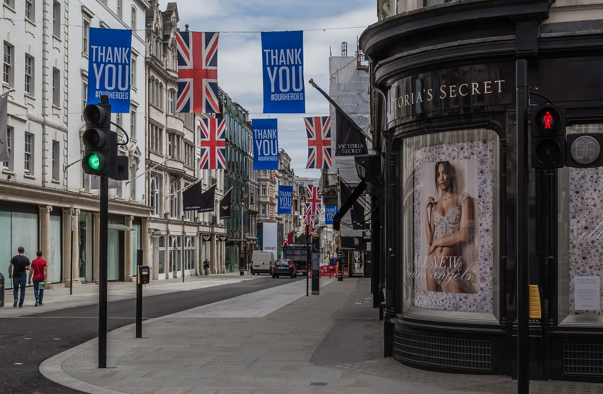 Marks+Spencer and Next are reportedly interested in acquiring Victoria's Secret UK out of bankruptcy while mall operator Intu is insolvent.