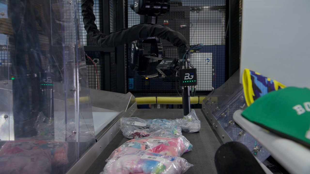 Robotics company Berkshire Grey has launched Robotic Induction Station solutions to improve sorting efficiency in apparel warehouses.
