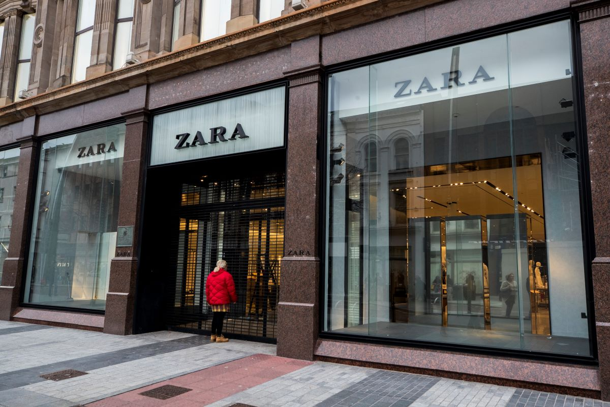 Zara owner Inditex outlined a store optimization plan in its first quarter earnings report that will see as many as 1,200 stores closed.