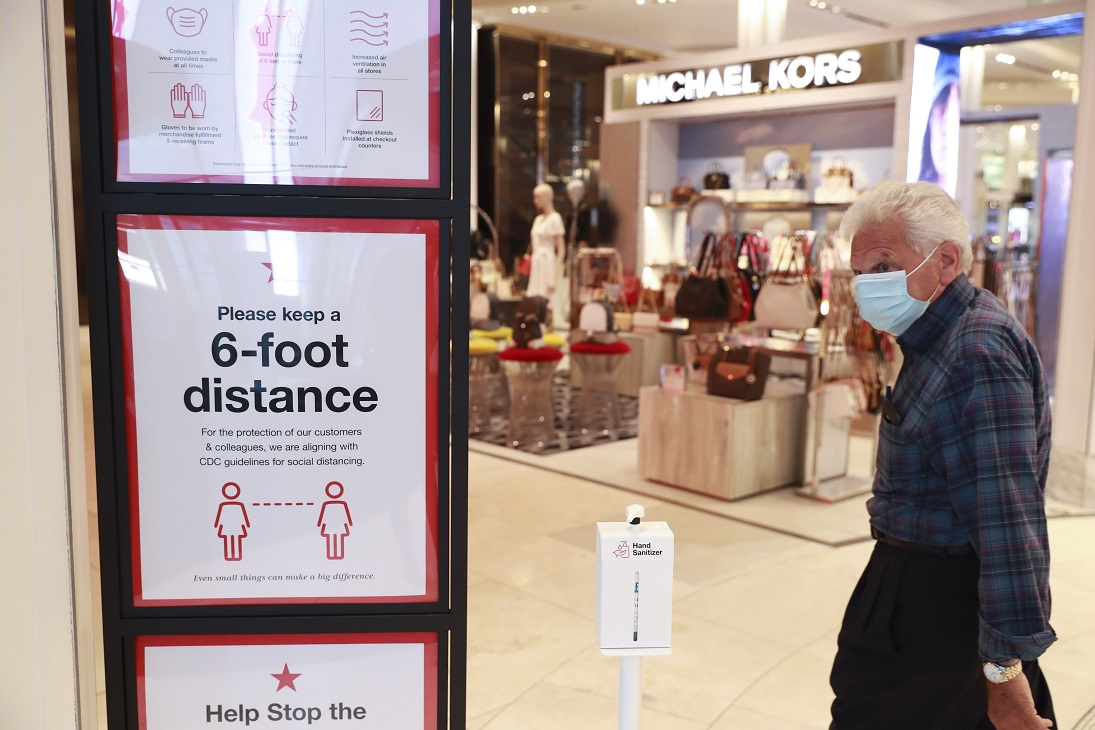 Seventy-one percent of U.S. consumers aren't comfortable shopping in a store over the next three months, a SafetyCulture survey says.