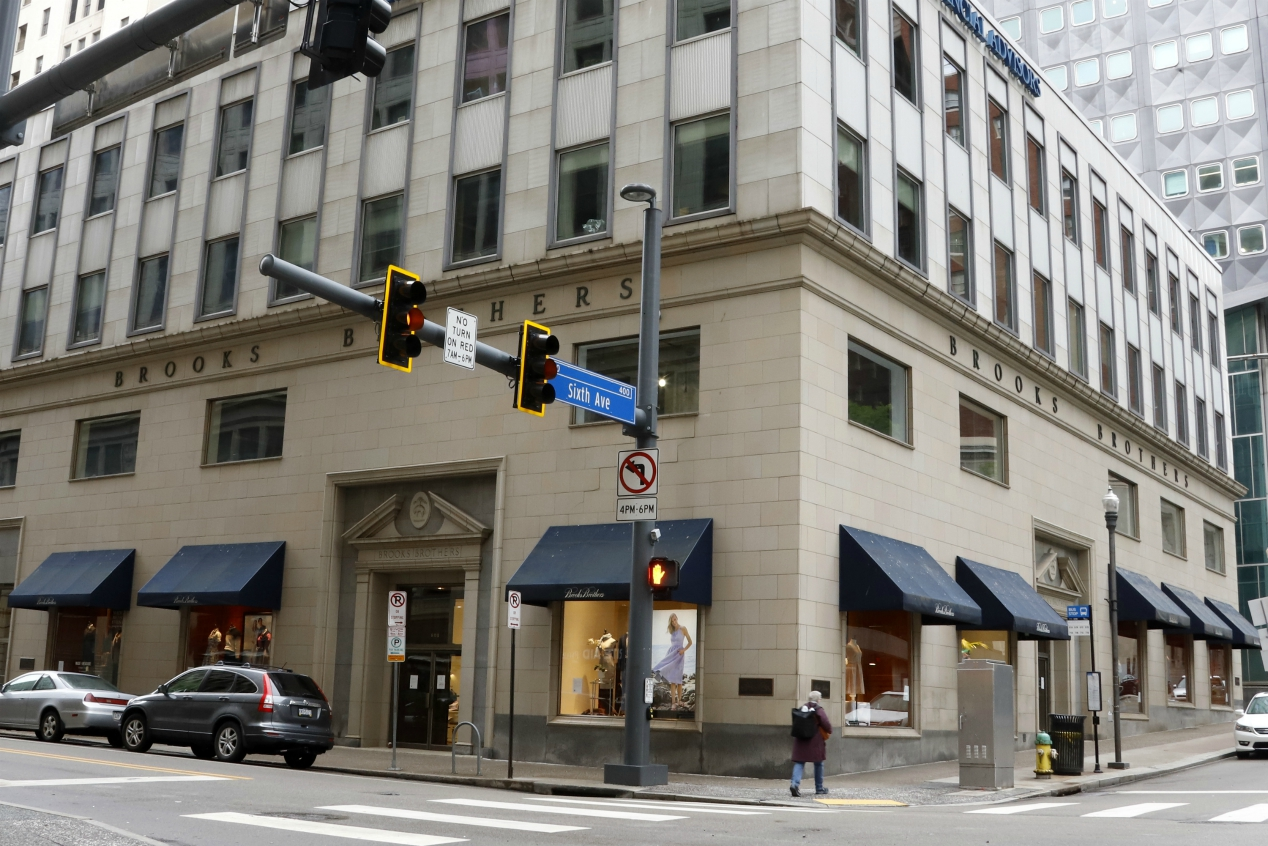 ABG and Simon Property make $305M stalking-horse bid for bankrupt Brooks Brothers, but will likely see competing bids at a court auction.