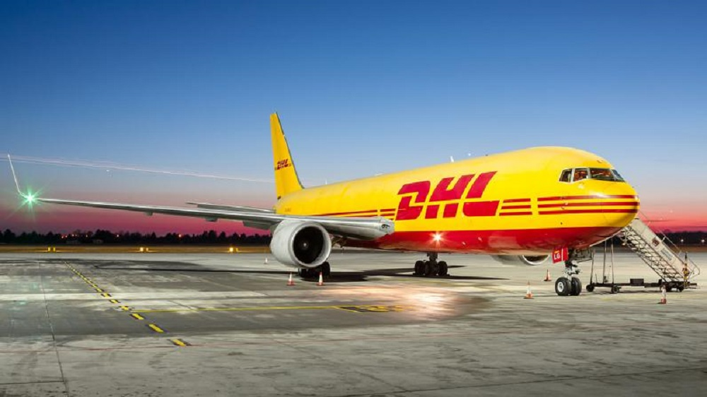 DHL Express and Boeing announced that the logistics company will add four 767-300 Boeing Converted Freighters to its air cargo fleet.