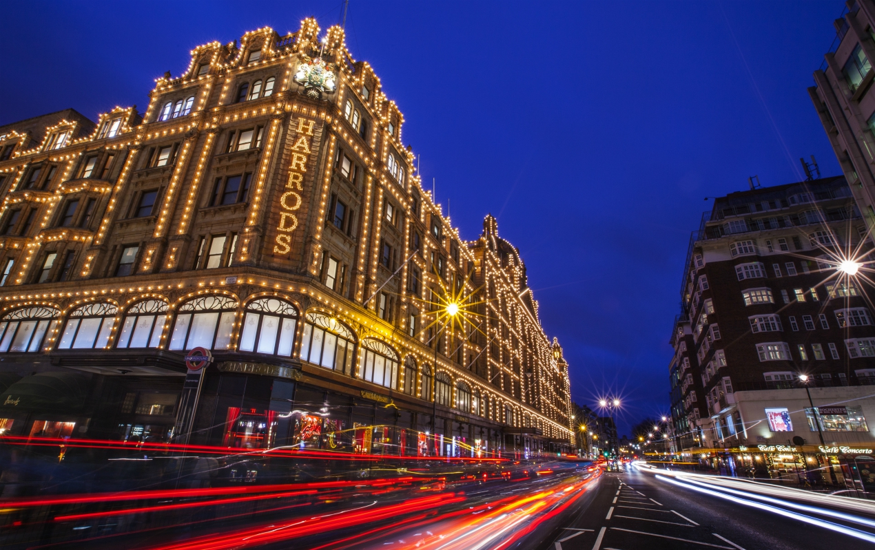 Harrods, Arcadia Group, John Lewis and T.M.Lewin are axing jobs, and the latter two U.K. retailers are also closing dozens of stores.