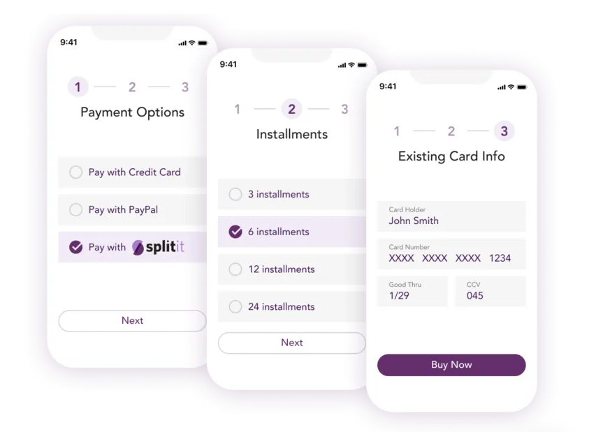 Splitit, which enables customers to pay for purchases with an existing debit or credit card by splitting the cost into interest and fee-free monthly payments, processed more $65 million in merchant sales volume, growing 176 percent quarter over quarter and 260 percent year over year.