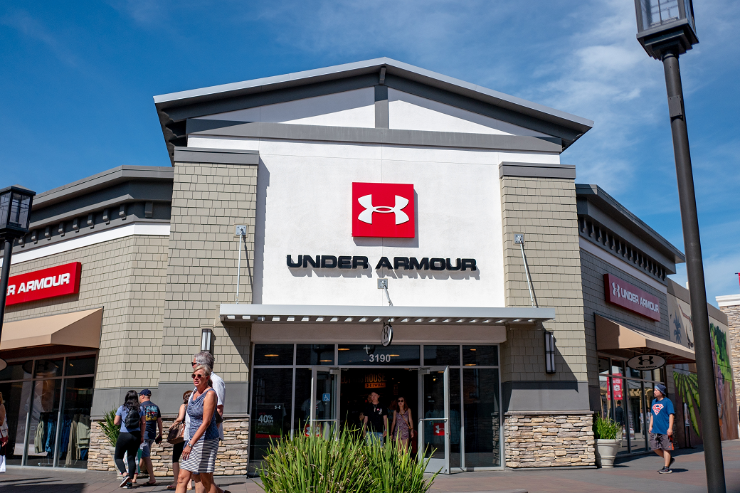 Revenue at Under Armour fell 41 percent to $707.6 million in the second quarter, with the company incurring 182.9 million in net losses.