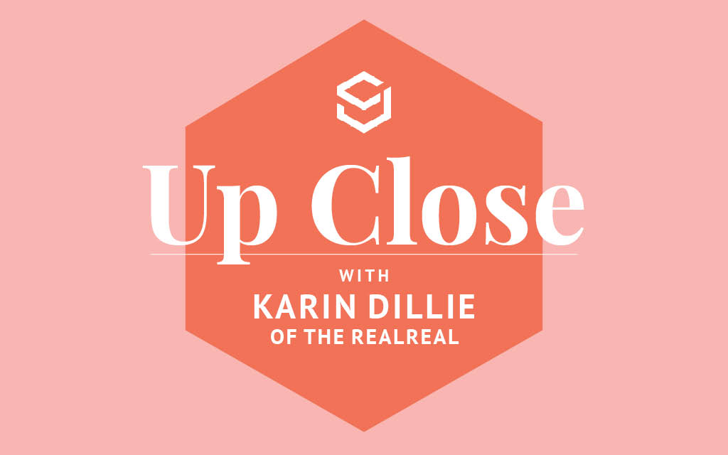 """In this Q+A, The RealReal's Karin Dillie explains her """"investment mindset"""" for shopping and the reseller's solution for brands' overstocks."""