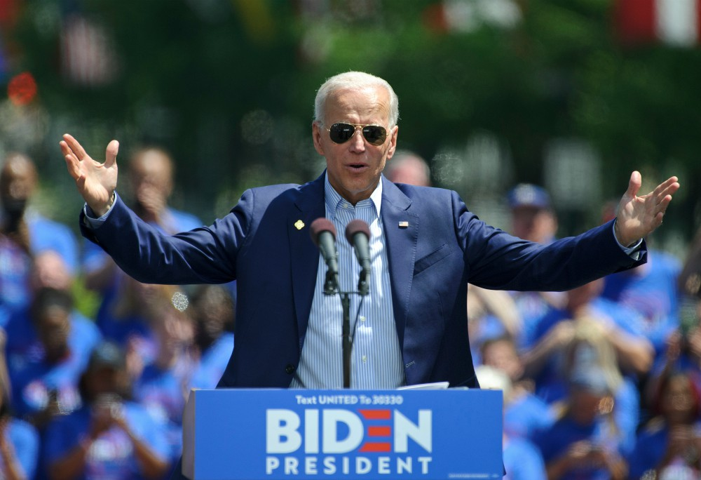 Presidential hopeful Joe Biden would reduce dependence on countries like China through a plan that would bolster U.S. manufacturing.