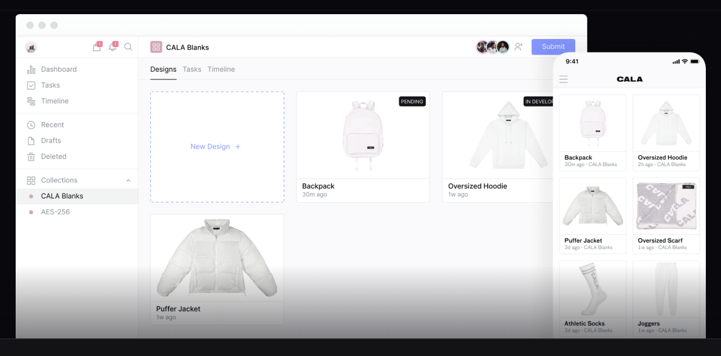 "Cala, a ""fashion house technology"" marketplace for creators to design and launch digital fashion brands regardless of their level of formal design training, has closed a $3 million investment round."