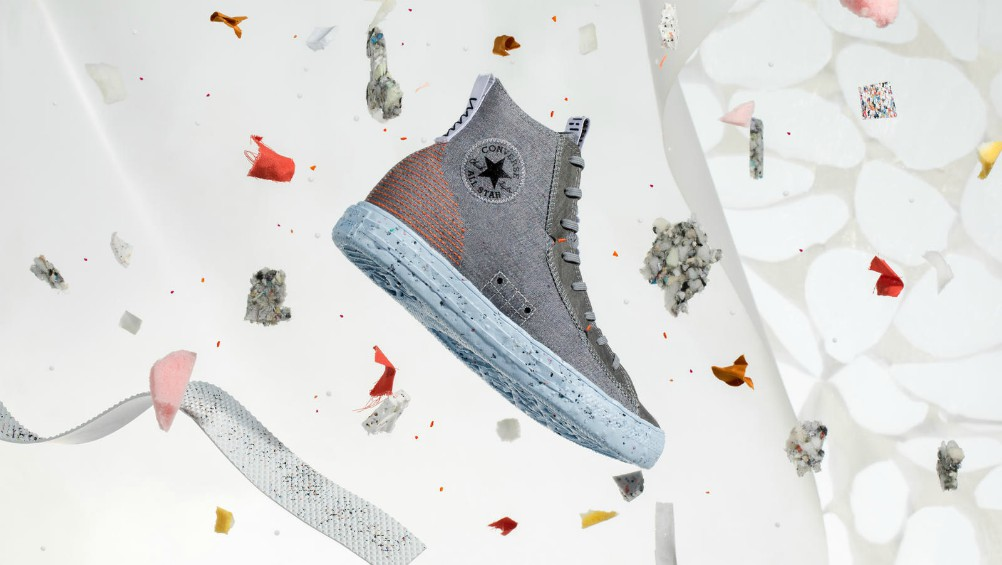 Converse borrowed from Nike's tool kit, injecting Space Hippie sustainable innovations to its latest eco-friendly Chuck Taylor All Star.