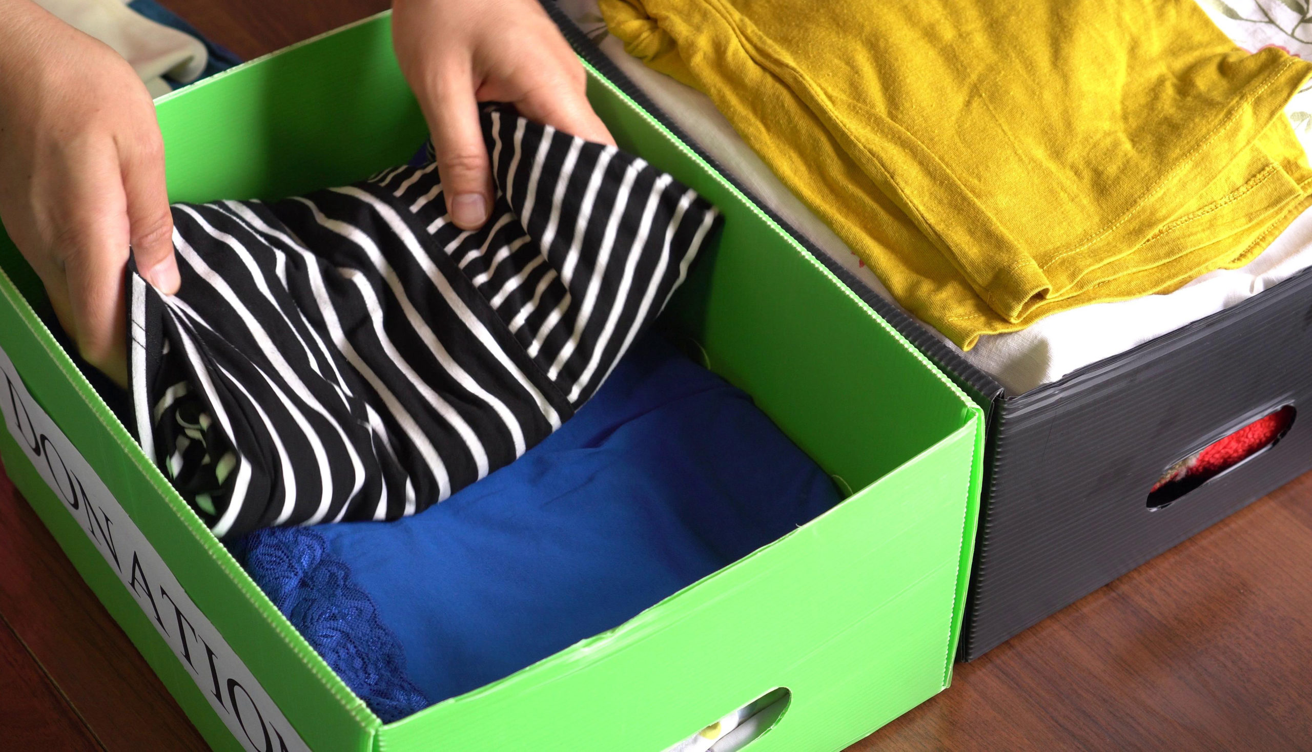 U.K. households alone have cleared out some 184 million textile items, a new survey has found.