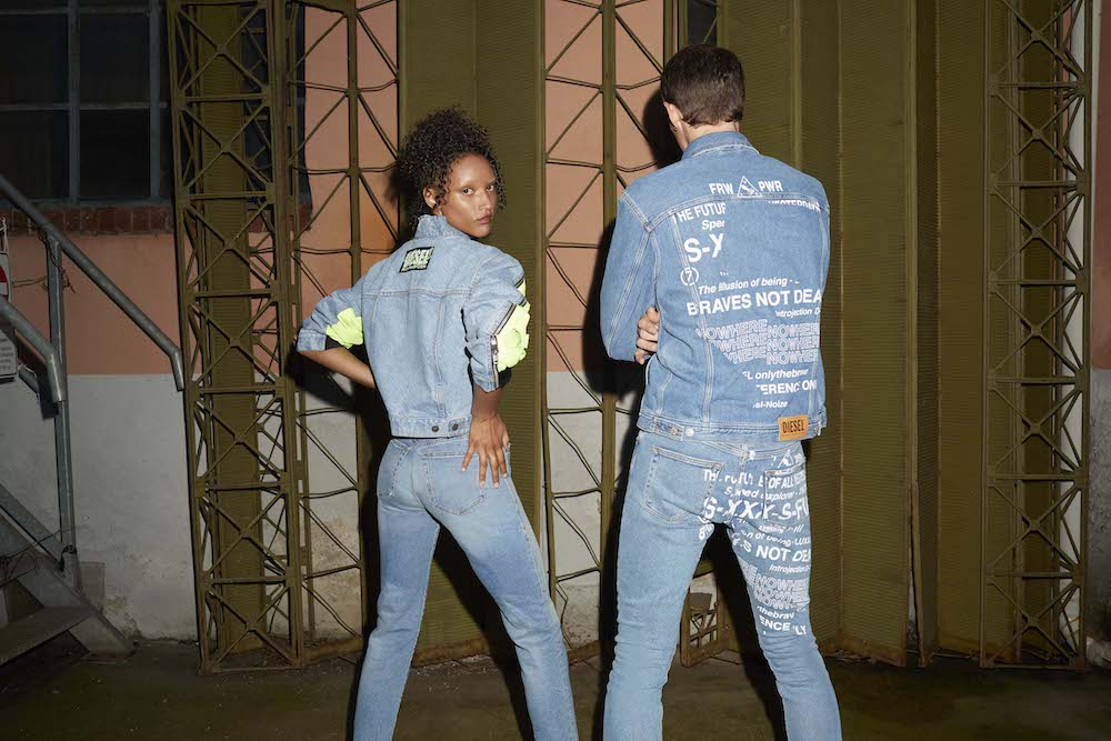 Polygiene's ViralOff antiviral technology will be applied to a selection of Diesel's Spring/Summer 2021 denim styles for men and women.