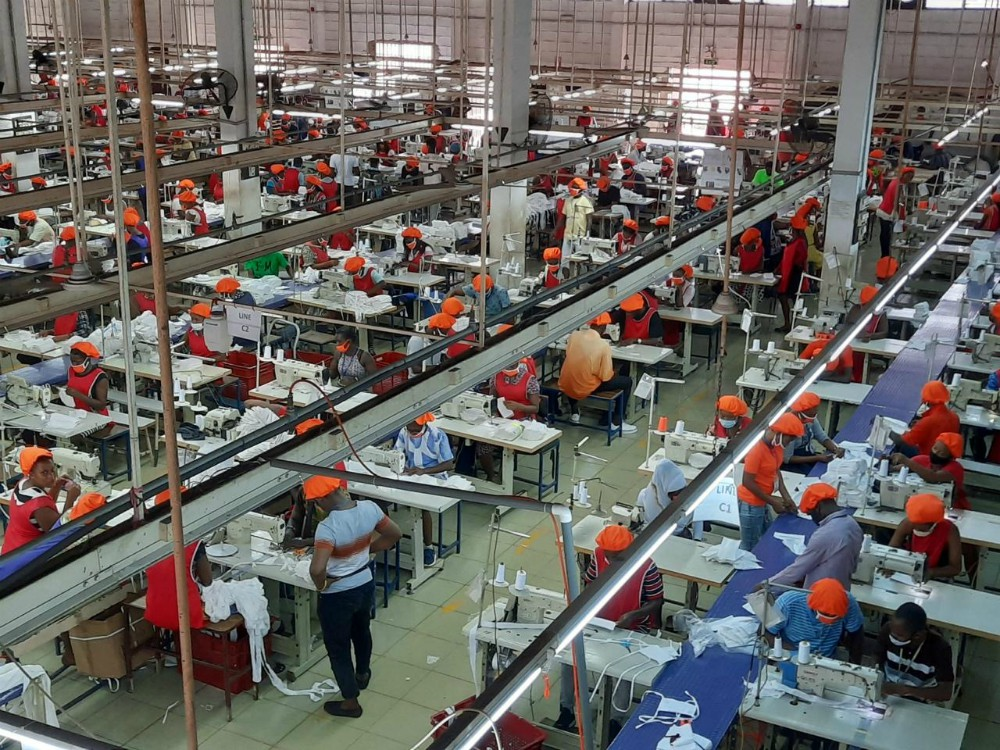 DTRT's apparel manufacturing operations in Ghana have the potential to jumpstart apparel production in the West Africa region, the CEO says.
