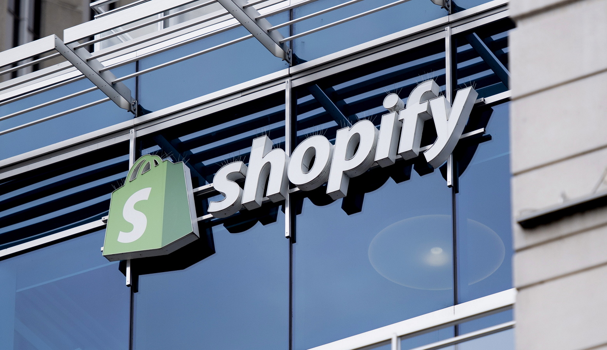 Shopify nearly doubled total revenue in the second quarter to $714.3 million, a 97 percent increase from the year-ago period, showing that the e-commerce giant has perhaps been one of the biggest beneficiaries of the combined global non-essential store closures and overall shift toward online spending.