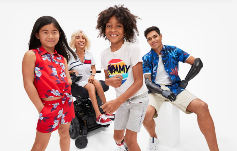 Tommy Hilfiger's adaptive apparel line launched in 2016, and has since expanded to other markets.