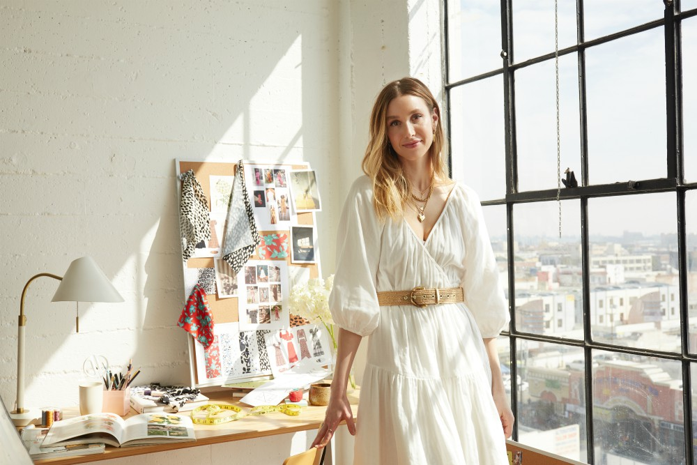 Fashion subscription rental service Rent the Runway has partnered with reality television's Whitney Port on a new capsule collection.