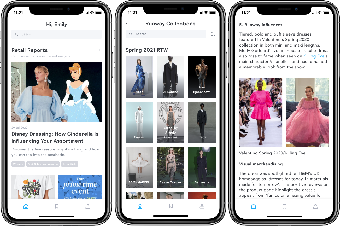 Fashion retail data and analytics firm Edited bowed a mobile app enabling fashion insiders to access trend analysis, reports and insights.