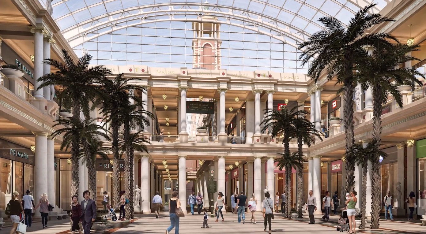 Intu Properties, the owner of 17 shopping centers in the U.K. and three in Spain, has put one of Great Britain's biggest malls up for sale.