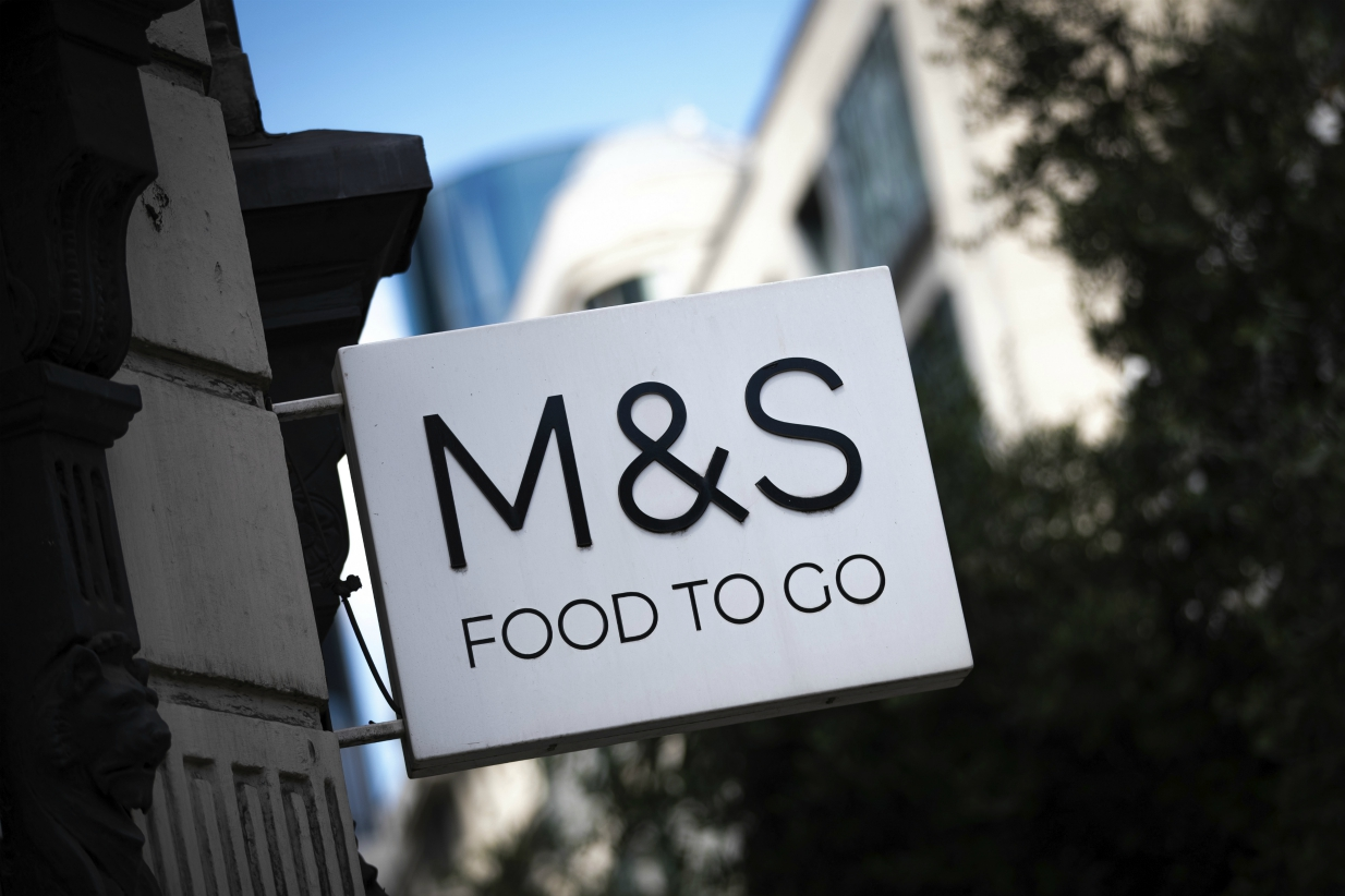 Marks and Spencer is focusing more on digital and online fulfillment to offset plunging store sales, with food delivery its newest service.