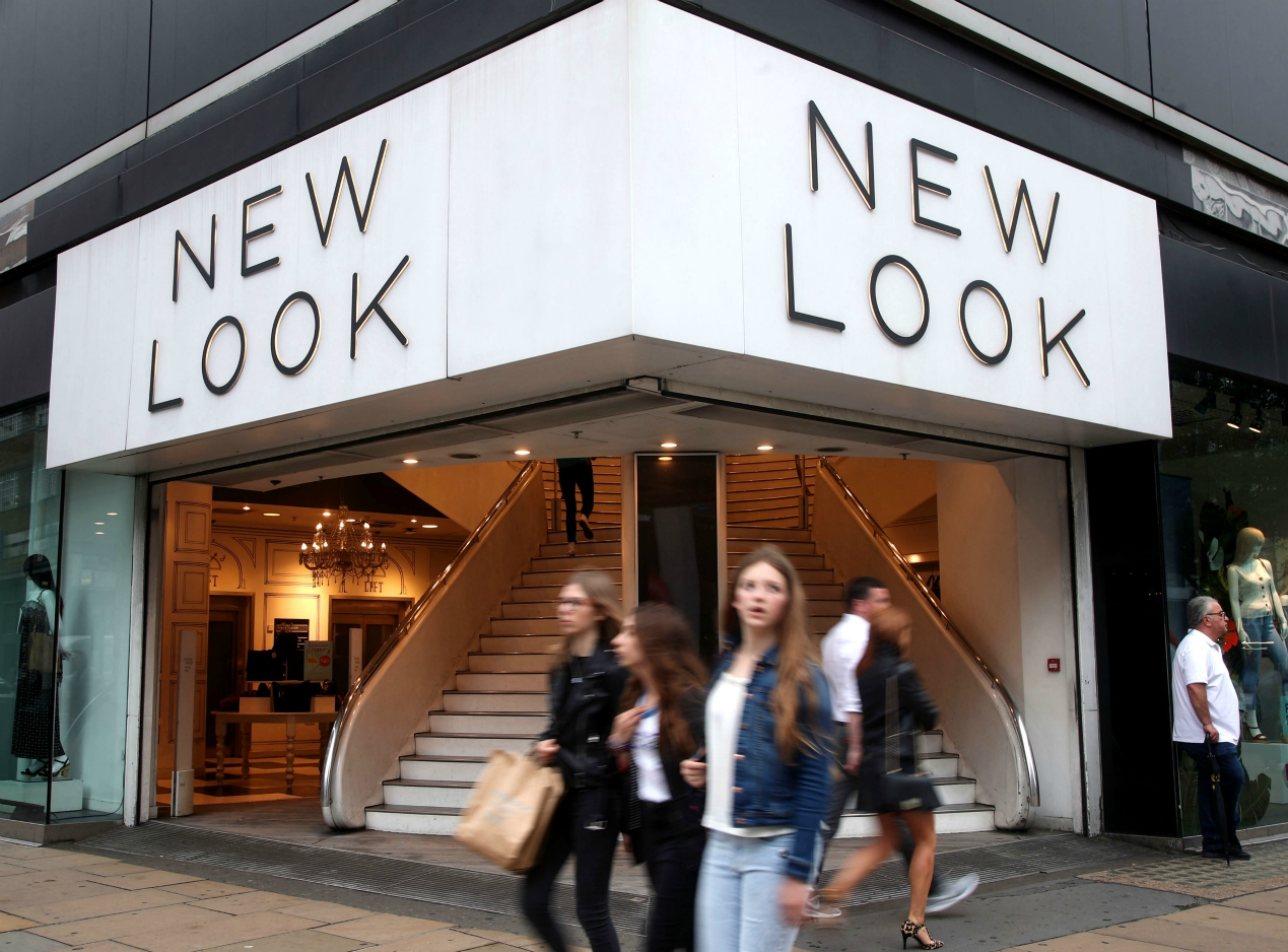 New Look's restructuring plan seeks zero rent at 68 stores and sales-based rent at others as the coronavirus pandemic ratchets up pressure.