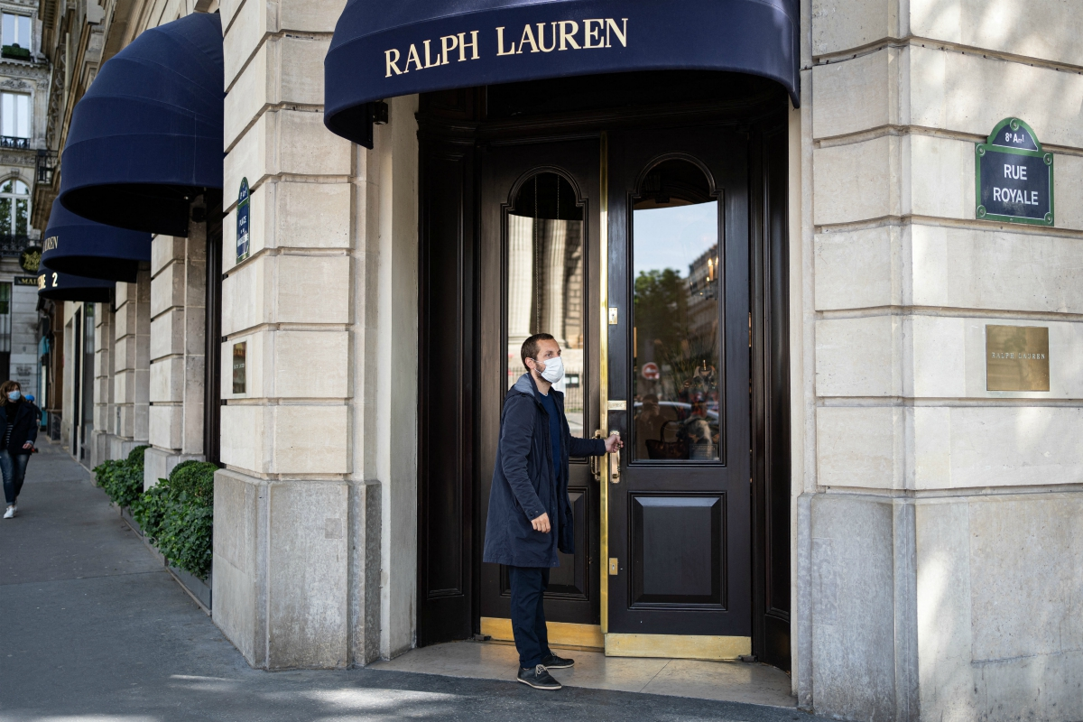 Ralph Lauren's Q1 revenues drop 65.9 percent due to coronavirus impact as CEO sees opportunities to become a leaner and more nimble company.