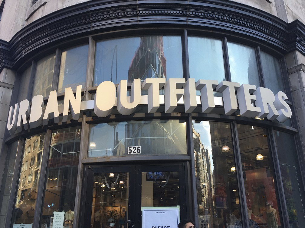 Urban Outfitters stock soared almost 13% today in extended hours trading today after reporting stronger than expected earnings.