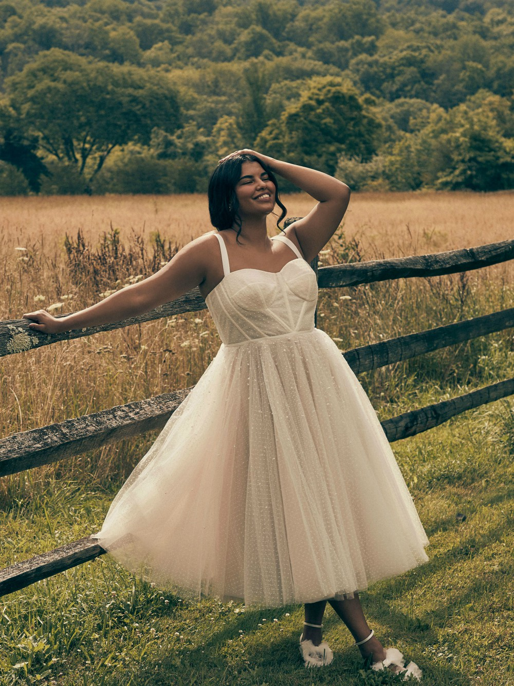 BHLDN's new Plus collection includes sizes up to 26W.