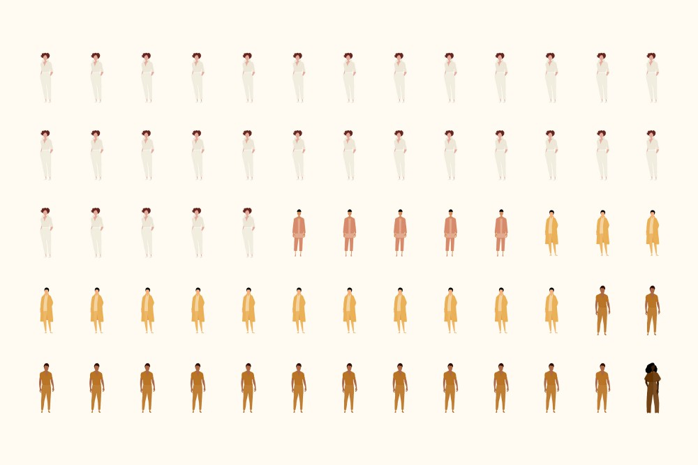 The Diversity List website breaks down the workforce demographics of 100 of the fashion industry's most prominent companies.