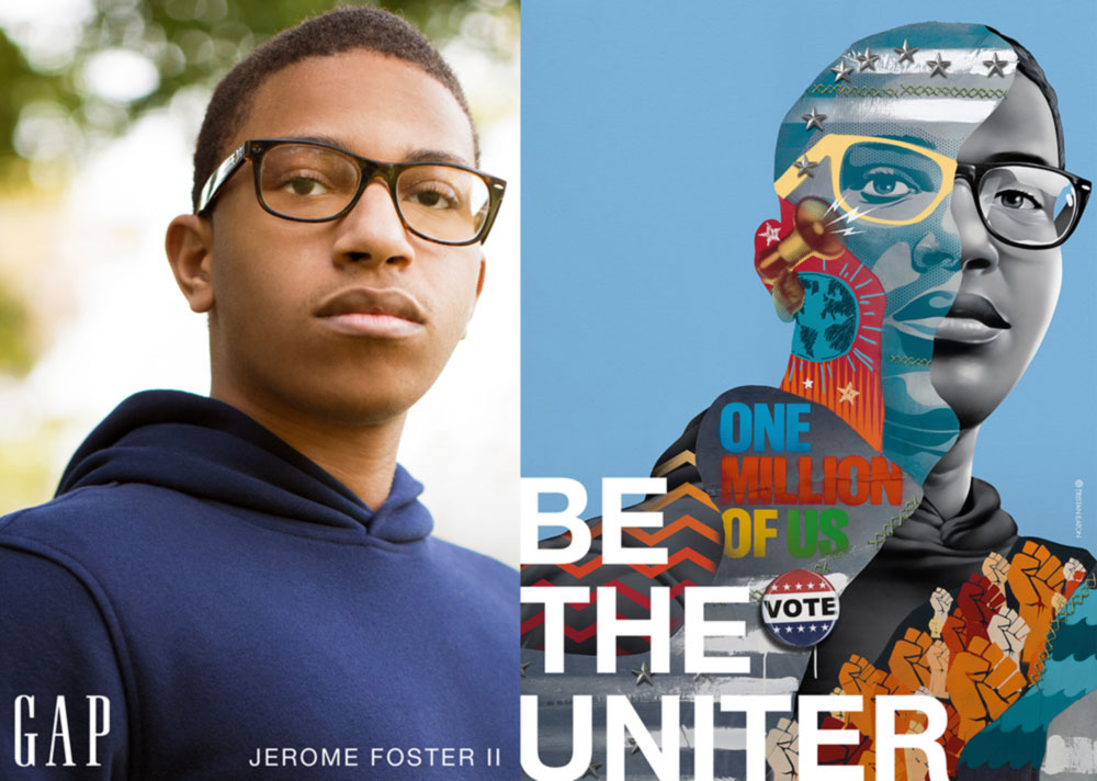 Be the Future, a new GapKids campaign for Fall 2020, features national youth activists in denim changing the world for the better.