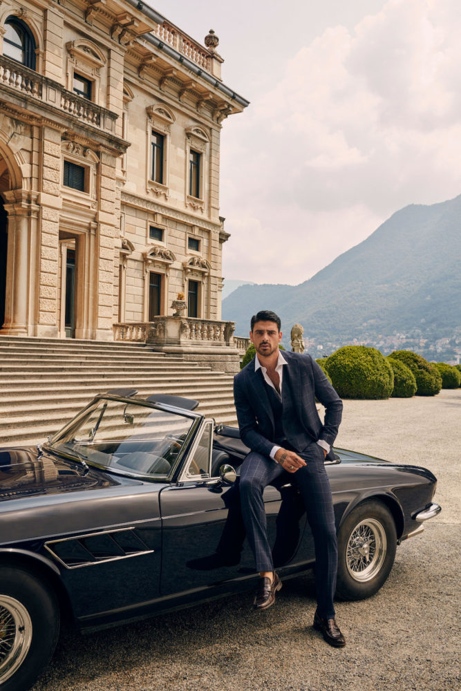 Michele Morrone of 365 Days will star in Guess' Fall/Winter 2020 holiday campaign promoting its new collection of elevated menswear.