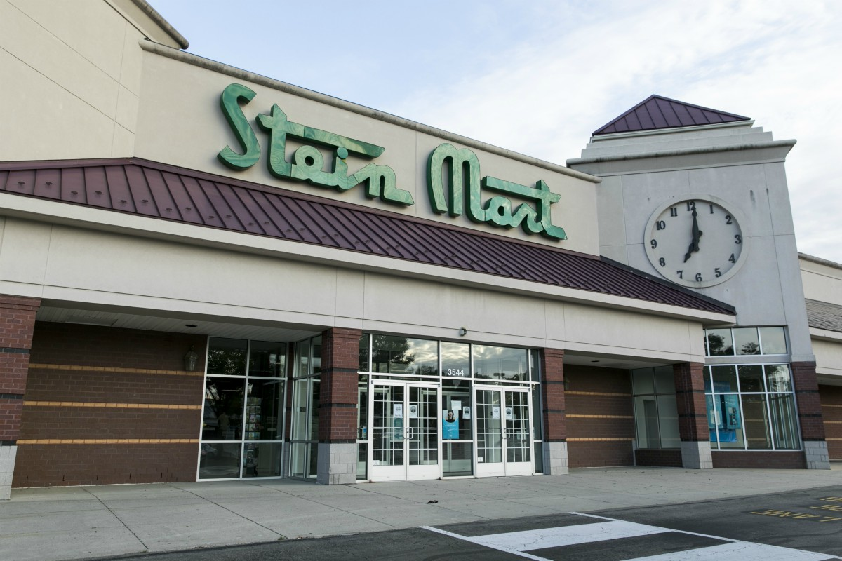 Off-pricer retailer Stein Mart files for bankruptcy so it can do an orderly liquidation of operations that could close all 281 stores.