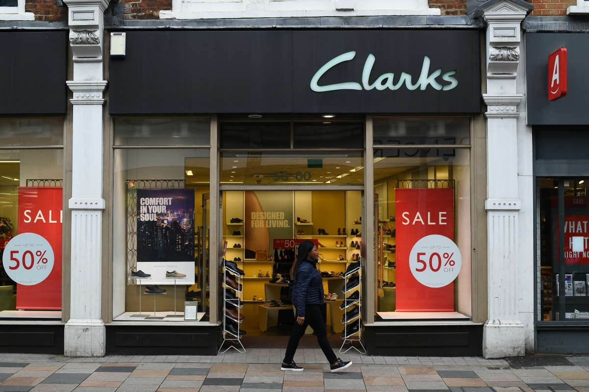 Struggling footwear firm Clarks is said to have garnered attention from private equity groups, including Sycamore and LionRock Capital.