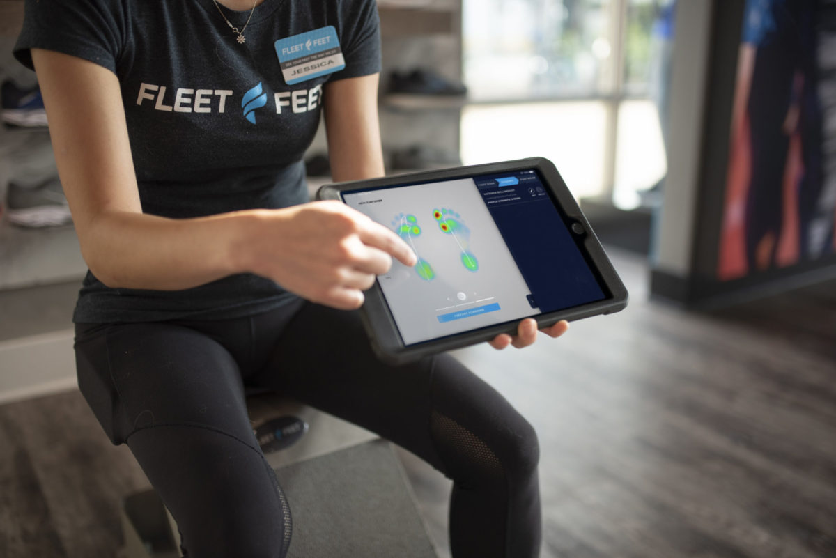 Fleet Feet's Fit ID now uses dynamic pressure mapping to offer individualized footwear insoles in partnership with Volumental and Superfeet.