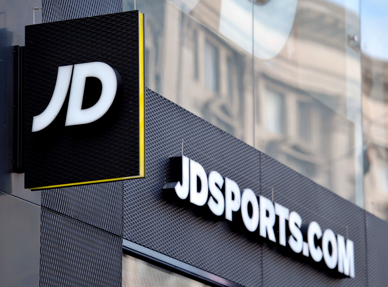 Covid-19 impacted British athletic chain JD Sports' first-half results, causing sales to slip 6.5 percent as profits fall 68.1 percent.