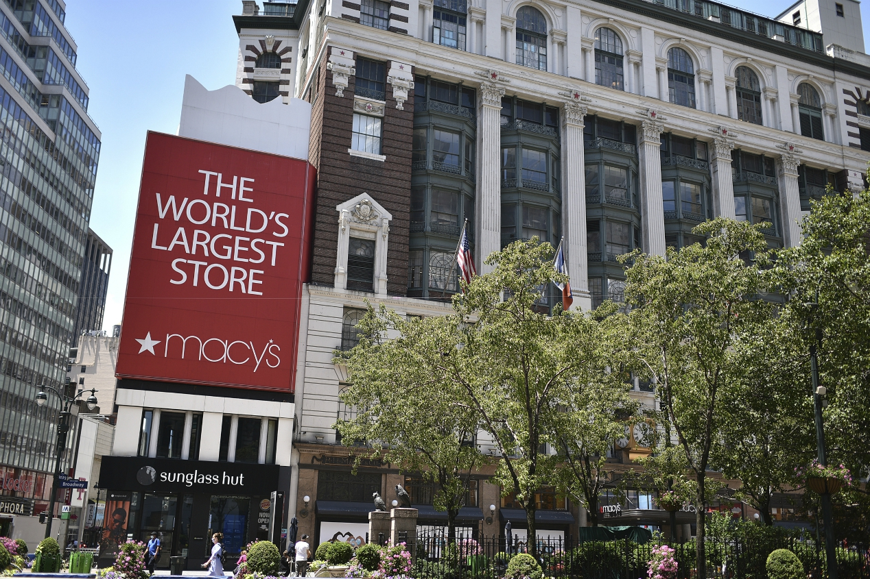 Macy's posts a steep Q2 sales decline, but loss was better-than-expected and it sees a luxury surprise in home that could benefit holiday.