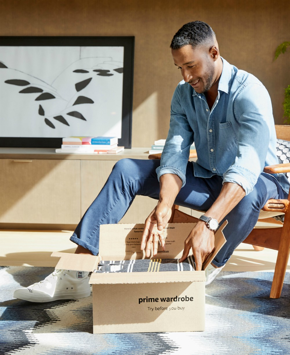 Amazon expanded Personal Shopper by Prime Wardrobe to include men's fashion, launching ahead of its October 13-14 Prime Day shopping event.