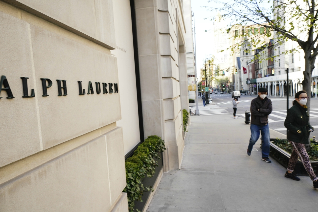 Apparel giant Ralph Lauren Corp. sheds 15 percent of its workforce, or 3,600 jobs, in a corporate reorganization.
