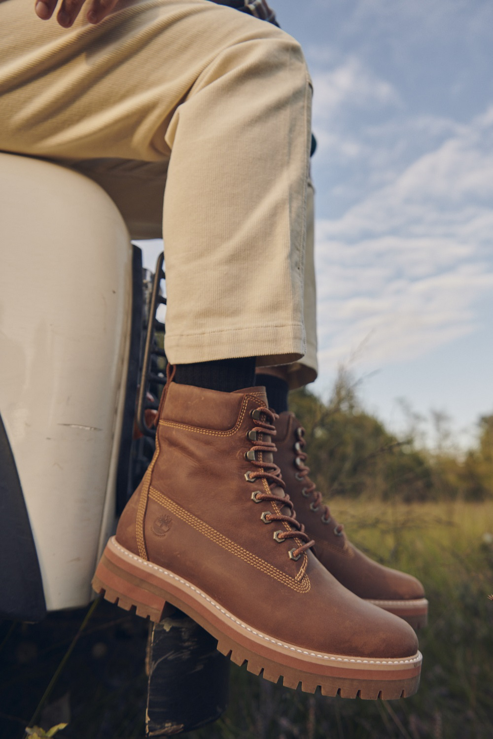 VF-owned footwear brand Timberland plans for all products to have a net positive impact on nature by 2030, giving back more than it takes.