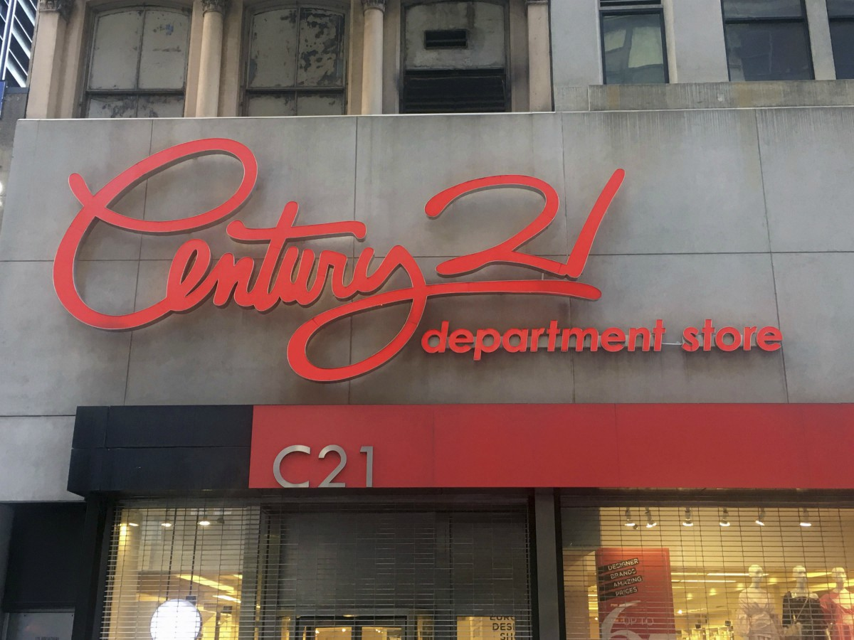 Off-price retailer Century 21 Stores filed for bankruptcy and is shutting down after a dispute with insurers over coronavirus claims.