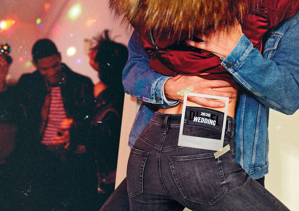 Diesel's Unforgettable Denim campaign urges shoppers to customize their denim with the events that the coronavirus canceled this year.