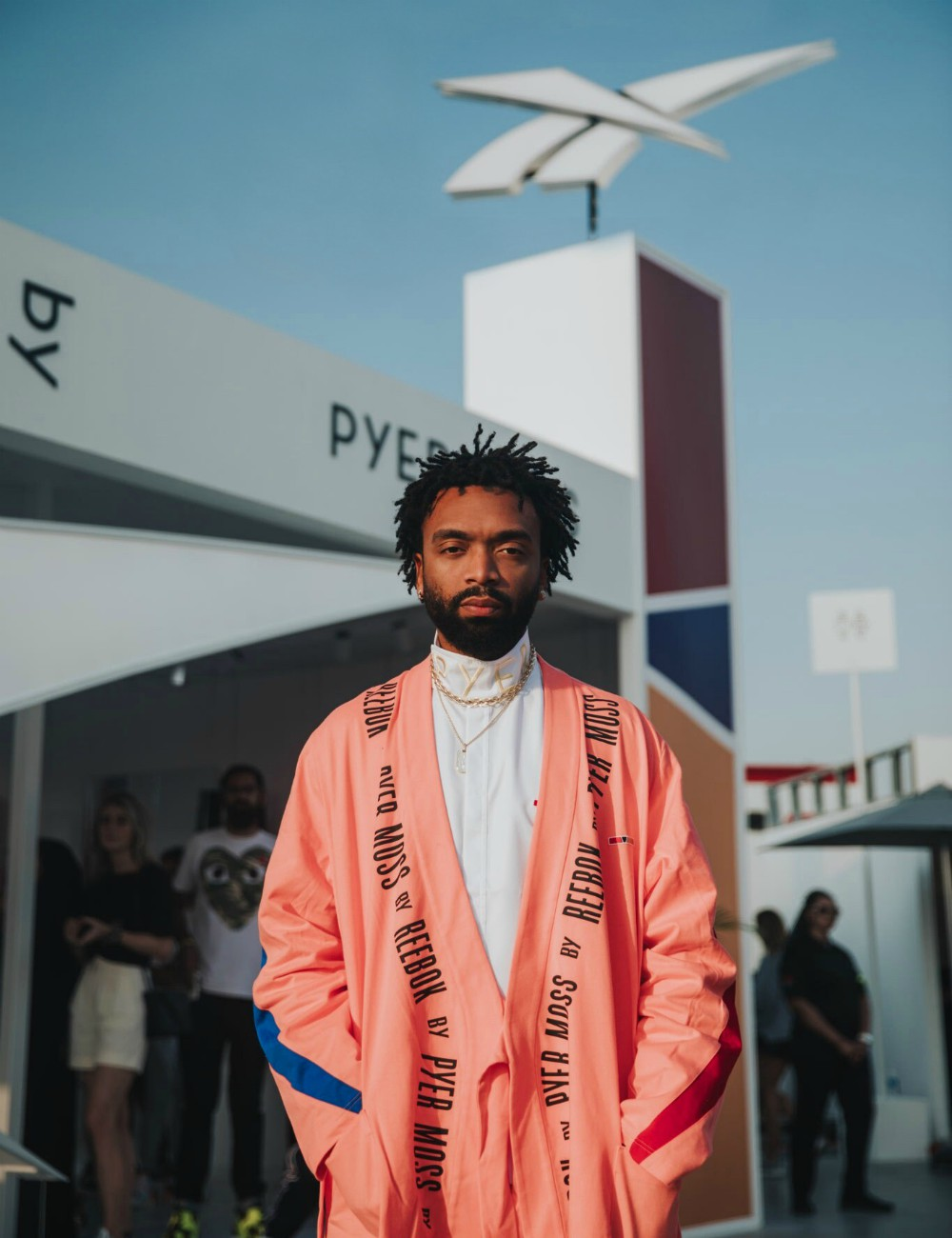 On Wednesday, athletic apparel and footwear giant Reebok announced Pyer Moss founder Kerby Jean-Raymond as its new creative director.