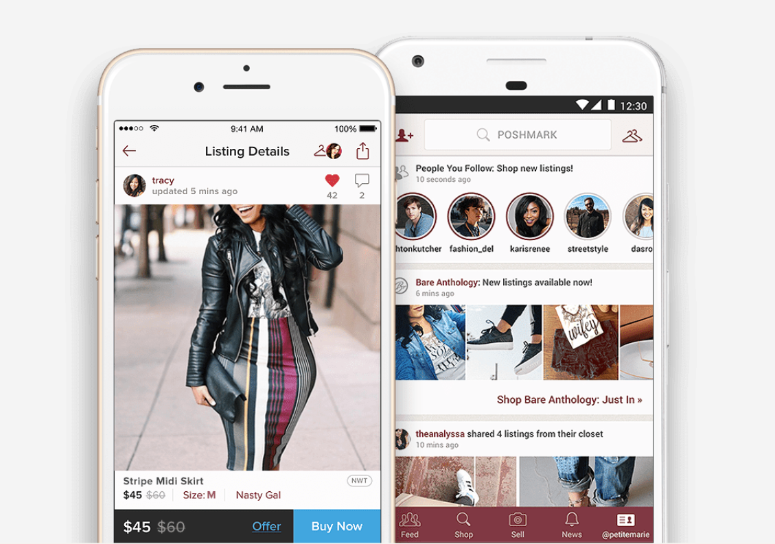 Poshmark has filed for an IPO as the peer-to-peer fashion resale platform eyes strong growth in the market for secondhand apparel and shoes.